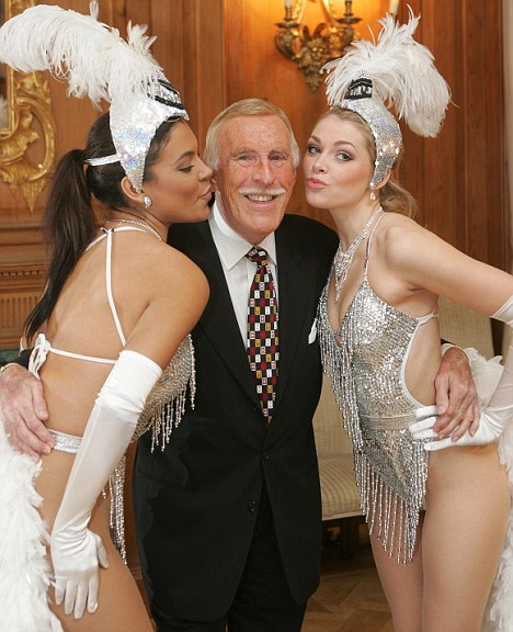 That's showbiz: Bruce Forsyth said staff at the BBC had accepted pay cuts with goodwill
