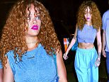 Mandatory Credit: Photo by Buzz Foto/REX Shutterstock (4900803b)\n Rihanna\n Rihanna out and about, New York, America - 11 Jul 2015\n \n