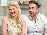 EDITORIAL USE ONLY. NO MERCHANDISING.. Mandatory Credit: Photo by Ken McKay/ITV/REX Shutterstock (4823166o).. Chloe Jasmine and Stevi Ritchie.. 'Lorraine' ITV TV Programme, London, Britain. - 05 Jun 2015..  CHLOE-JASMINE AND STEVI RITCHIE.. Loved up couple Stevi Ritchie and Chloe-Jasmine Whichello, who were both X Factor finalists last year talk about life after the X Factor and their blossoming romance..