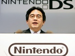 Satoru Iwata, who started off as a programmer, took the top post at Nintendo in 2002, two years after joining the firm ©Toru Yamanaka (AFP/File)