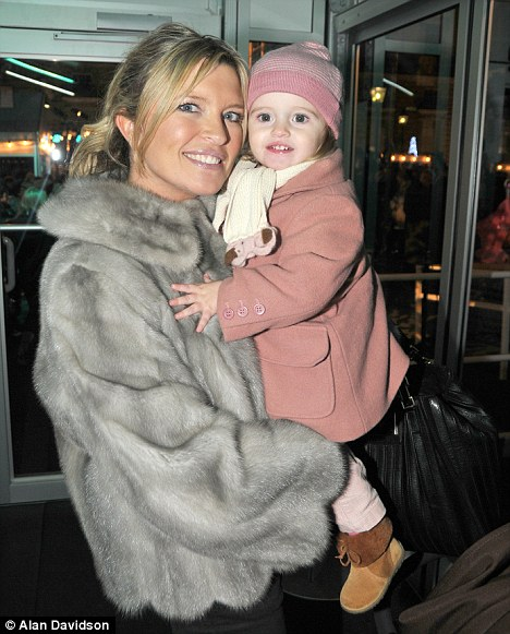 Tina Hobley with her daughter