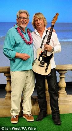 Rolf Harris and Rick Parfitt