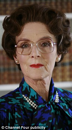Susan Jameson plays the Queen in the new Channel 4 production