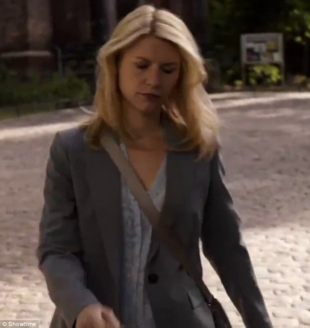 She's back! Claire Danes has returned for her role as now former CIA officerCarrie Mathison