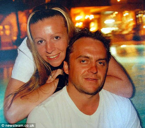 Killed: Nick O'Brien and his wife Emma, who died after the light aircraft they were in crashed into railway lines