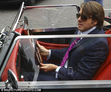 Fresh controversy: It has emerged that Jonathan Ross, pictured leaving the BBC studios in his vintage car yesterday, has packed his BBC 1 talk-show with guests