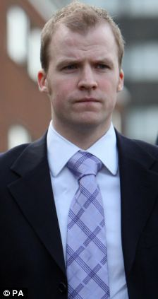 PC Thomas Hart, accused of causing death by careless driving