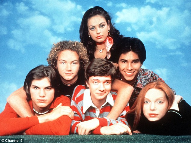 Their history: The actors, who only started dating in April 2012, first met whilst filming That '70s Show together from 1998 to 2006