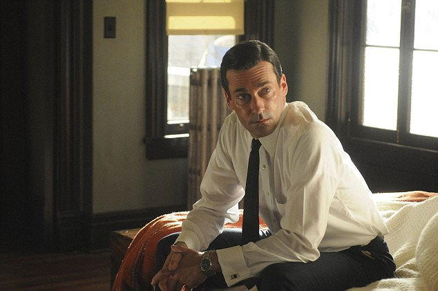 Dapper: Jon shot to fame as Mad Men's Don Draper, a role he played for seven seasons