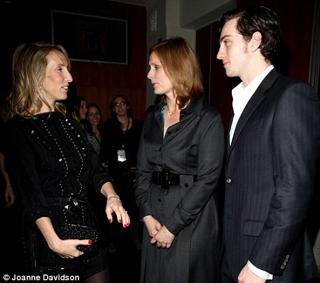 Sam Taylor-Wood, Sarah Brown and Aaron Johnson UK Premiere of 'Nowhere Boy' at Bafta, Piccadilly