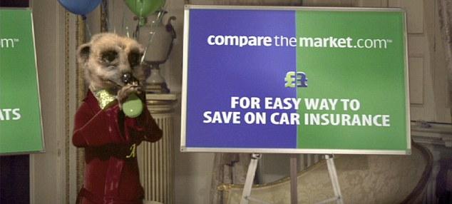 Simples! Aleksandr the Meerkat from comparethemarket.com advert