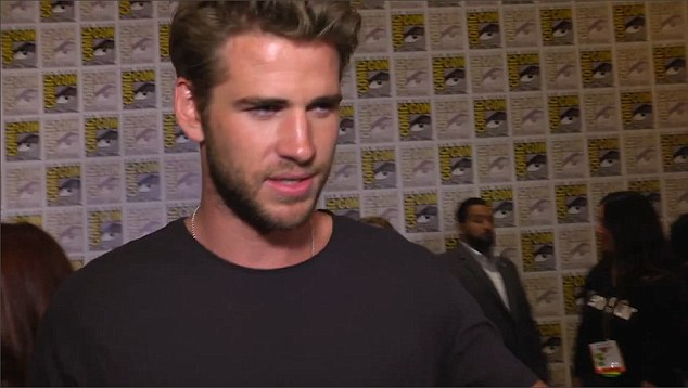 Don't go there: Liam angrily said to the reporter:'You called me Chris? It's Liam'