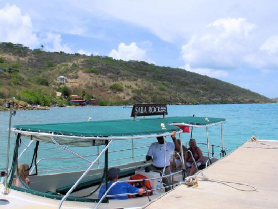 Free shuttle boat from Gun Creek to Saba Rock - Picture of Saba Rock, Virgin Gorda