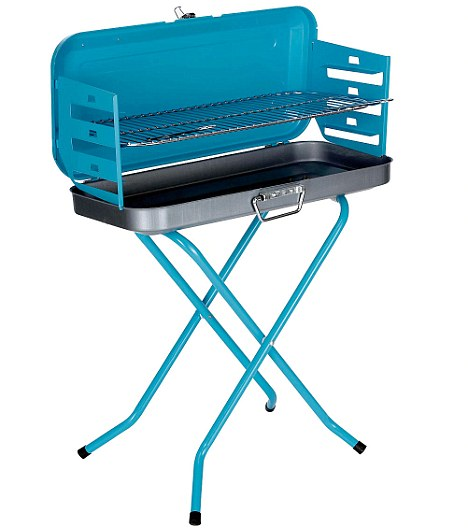 Great value: The Vegas folding barbecue got Aldo Zillli's seal of approval