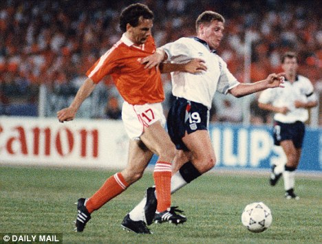 Creator-in-chief: Gazza was spectacular at Italia '90 for England, helping them into the semi-final