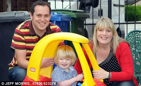 Adrian & Joanne Horsley of Warrington