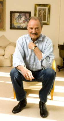 Witty: Peter Bowles