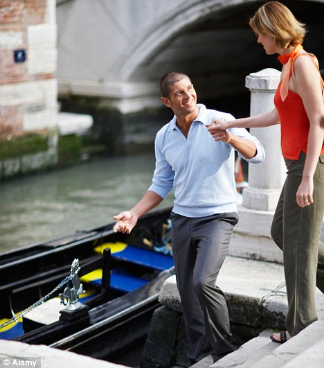 Don't expect to be helped on to a boat: Most women think chivalry is dead