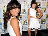 "SAN DIEGO, CA - JULY 12:  Actress Lea Michele poses at the ""American Horror Story"" and ""Scream Queens"" panel during Comic-Con International 2015 at the San Diego Convention Center on July 12, 2015 in San Diego, California.  (Photo by Albert L. Ortega/Getty Images)"