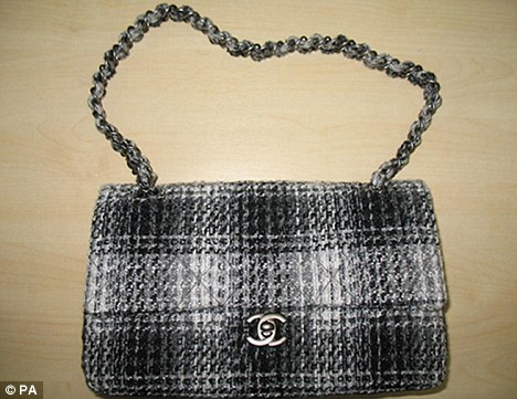 Top of the range: Some websites 'rent' out designer handbags, like this one from Chanel