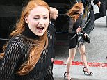 Games of Thrones actress Sophie Turner is all smiles as she heads to a press panel at Comic con 2015 day 2 in San Diego, Ca \n\nPictured: Sophie Turner \nRef: SPL1077080  110715  \nPicture by: iPix211/London Entertainment \n\nSplash News and Pictures\nLos Angeles: 310-821-2666\nNew York: 212-619-2666\nLondon: 870-934-2666\nphotodesk@splashnews.com\n