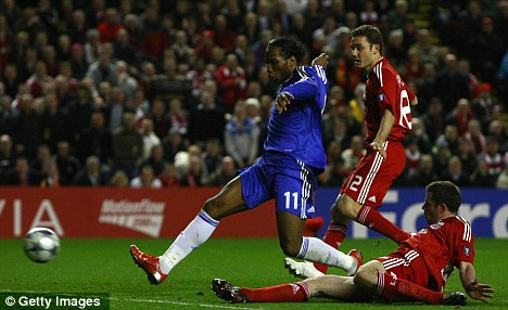 Grudge match: The recent history between Chelsea and Liverpool is likely to stir the emotions in players from both teams
