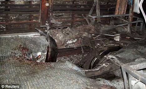 The Edgware Road train where Khan killed himself with a bomb