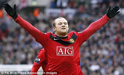 Roo beauty: The United striker is in line to return against Sunderland on Sunday