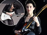 American singer St Vincent (Annie Clark) performs at the Iveagh Gardens, Dublin, Ireland - 10.07.15. Featuring: St Vincent (Annie Clark) Where: Dublin, Ireland When: 11 Jul 2015 Credit: WENN.com **Not available for publication in Ireland**