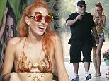 July 10th, 2015 - Ibiza\n******EXCLUSIVE ALL AROUND PICTURES*******\nIMOGEN ANTHONY AND KYLE SANDILANDS IN IBIZA.\nThe pair enjoy their summer holidays in the Spanish island.\n****** BYLINE MUST READ : © Spread Pictures ******\n****** No Web Usage before agreement ******\n****** Strictly No Mobile Phone Application or Apps use without our Prior Agreement ******\nEnquiries at photo@spreadpictures.com
