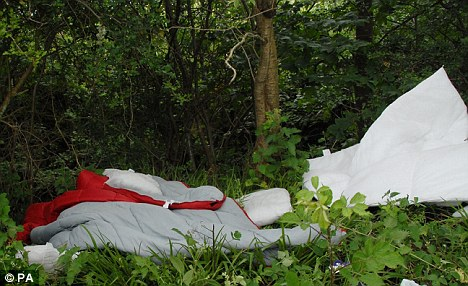 Raoul Moat camping equipment