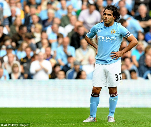 I'm off! Carlos Tevez wants to leave Manchester City