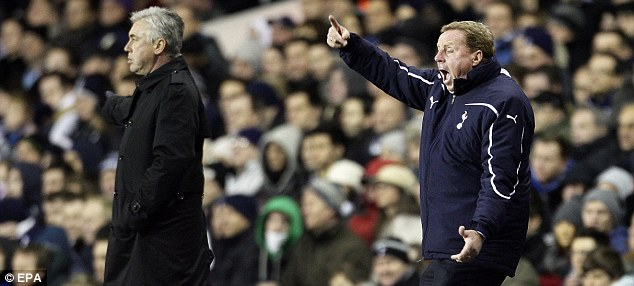 In charge: Spurs have excelled under the influence of Redknapp