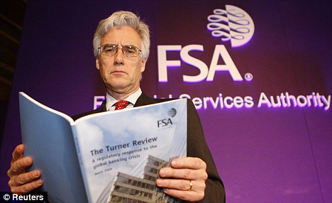 No can do: Lord Turner has come under fire for not publishing the report