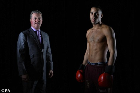 High hopes: Frank Warren has tipped DeGale to hit the big time