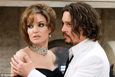 Great expectations: It's the first time the two Hollywood stars had worked together on screen