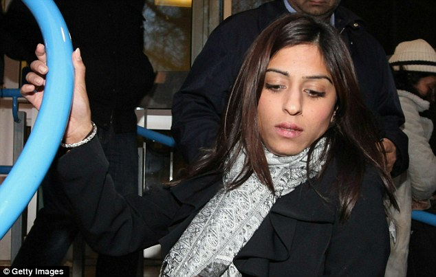 Anni Dewani's cousin leaves Westminster Magistrates' Court.  Shrien Dewani has been accused of conspiring to murder his wife while on honeymoon near Cape Town in November