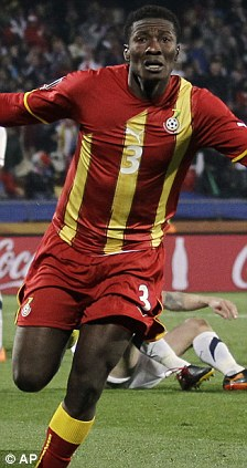 African Kings: Drogba and Gyan have been lined up for the continent's top award