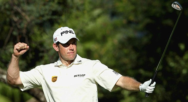 Fought his way: Lee Westwood completed an incredible rise in the rankings this year to replace Tiger Woods as world No 1