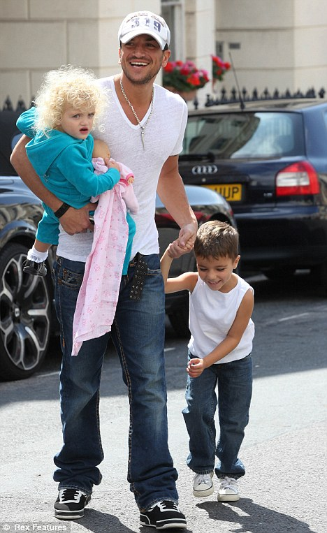 Family man: Andre shares custody of his children with ex Katie Price