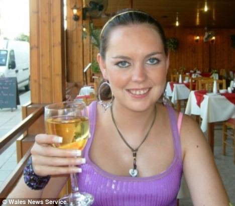 Fun-loving: Gemma Thomas, 26, died after her drink was spiked with what police believe was methadone