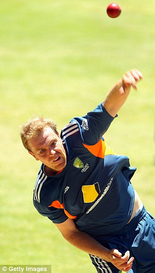 No small beer: Australia's latest spinner is set for baptism of fire in the must-win match for his country at the WACA