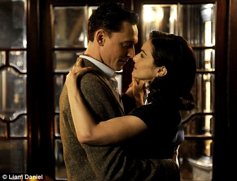 Passionate: Rachel Weisz and Tom Hiddleston