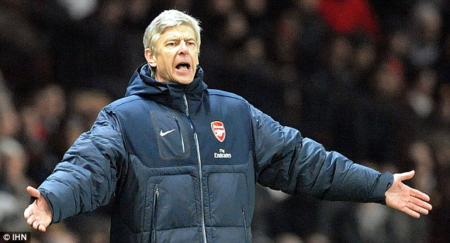 Bad memories: Arsene Wenger insists he won't forgive Ryan Shawcross over his tackle