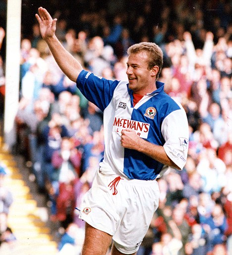 Remember me? Alan Shearer won a Premier League title at Blackburn as a player now he wants to manage them