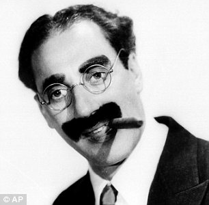 Comedian Groucho Marx