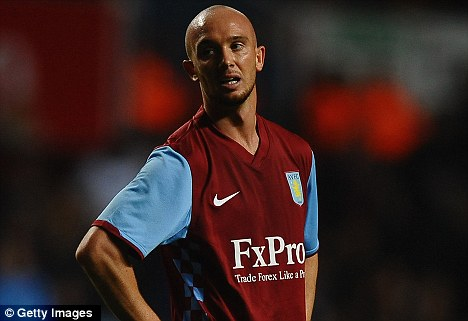 Exit ahead: Stephen Ireland looks set to leave Aston Villa to join Celtic