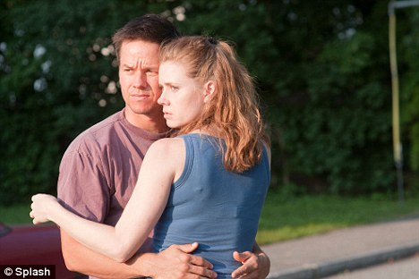 Holding on: Amy and Mark as Micky Ward and Charlene Fleming in The Fighter