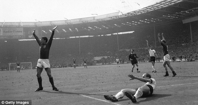 Highlights: Gone are the days when real sporting excellence, like Geoff Hurst's hat-trick, could be beamed on the BBC