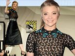 """SAN DIEGO, CA - JULY 11:  Actress Natalie Dormer attends the Screen Gems panel for """"Patient Zero"""" and """"Pride and Prejudice and Zombies"""" during Comic-Con International 2015 at the San Diego Convention Center on July 11, 2015 in San Diego, California.  (Photo by Albert L. Ortega/Getty Images)"""
